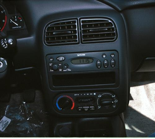2001 Saturn SL Factory Radio