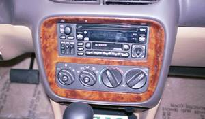 1999 Chrysler Sebring JX Factory Radio
