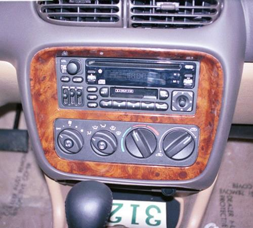 1999 Chrysler Sebring JXI Factory Radio
