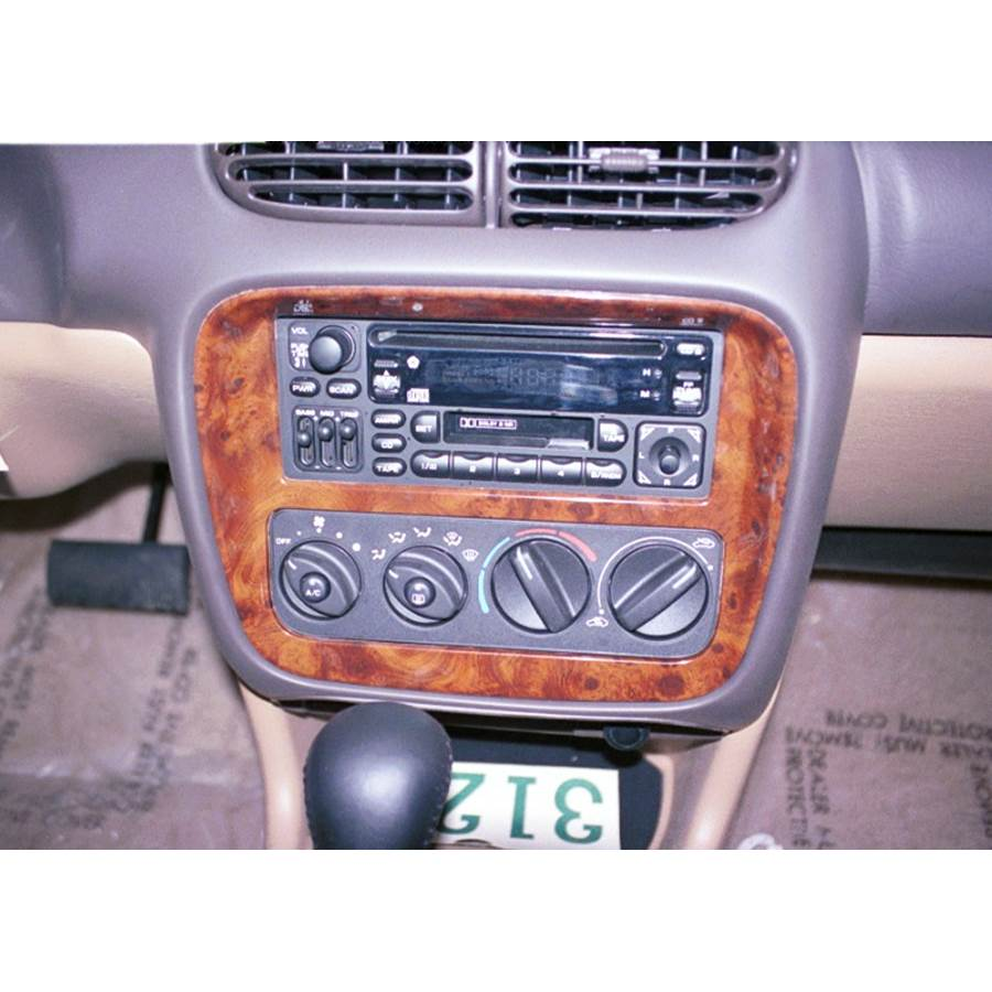 1997 Chrysler Sebring JX Factory Radio