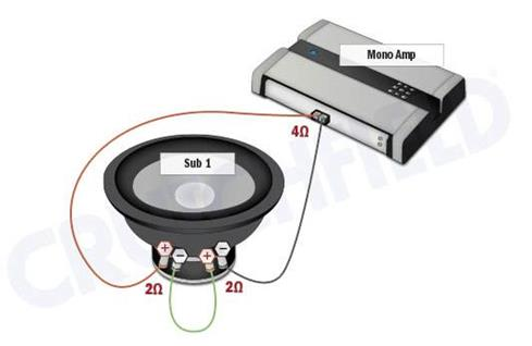subwoofer diagram