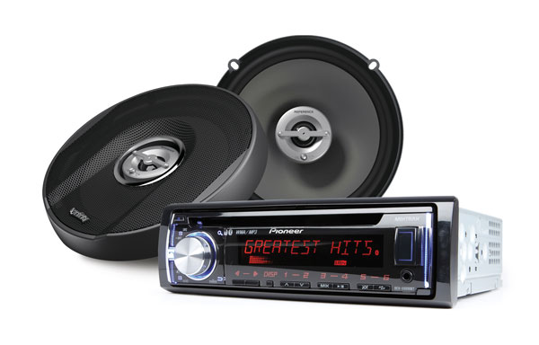 Car Radio Stereo A//M Amplifier Add On Interface 4Ch RCA Output for 01-up Mazda