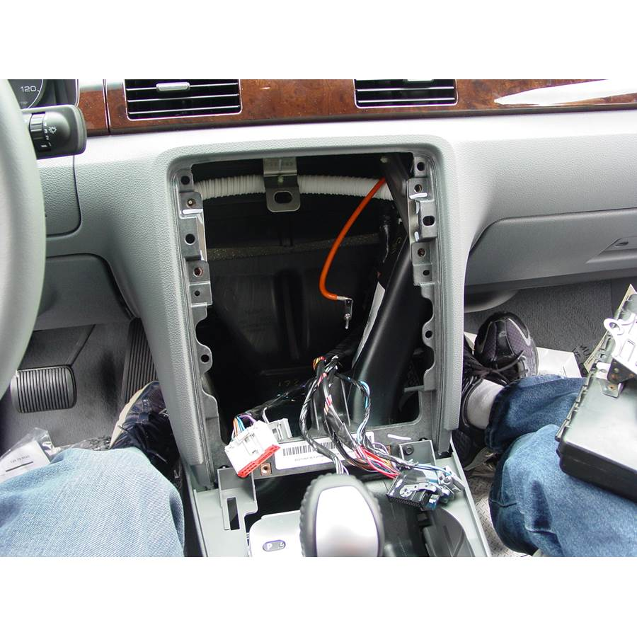 2007 Ford Five Hundred Factory radio removed
