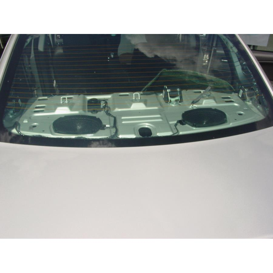 2007 Ford Five Hundred Rear deck speaker location