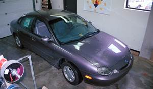 1996 Mercury Sable G Exterior
