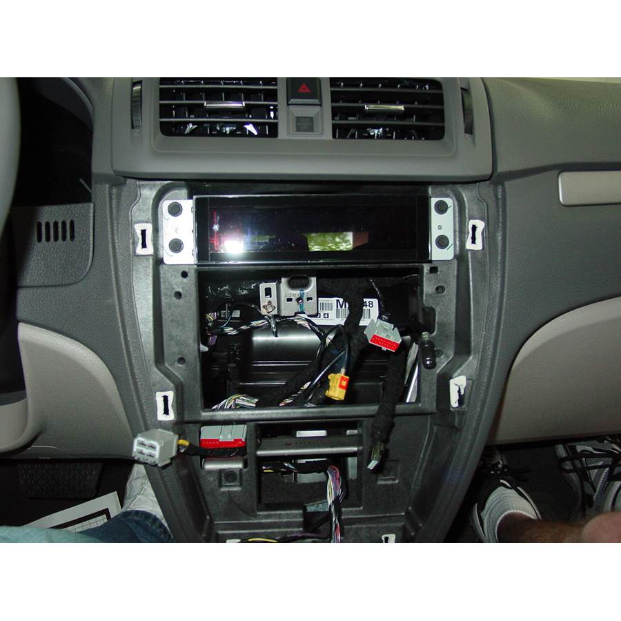 2010 Ford Fusion Factory radio removed