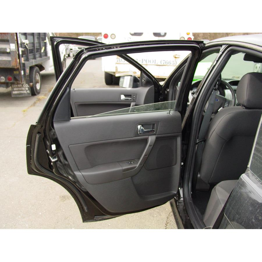 2011 Ford Focus Rear door speaker location