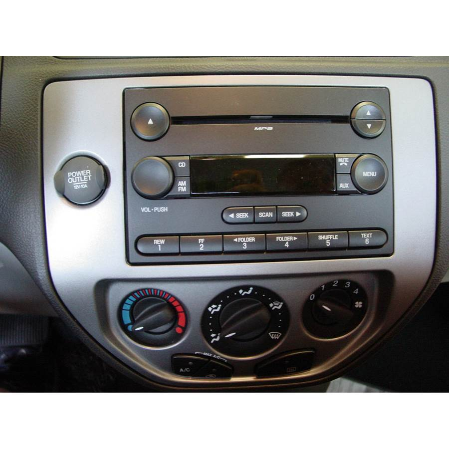 2006 Ford Focus ZX3 Factory Radio