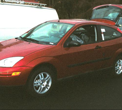2002 Ford Focus ZX3 Exterior