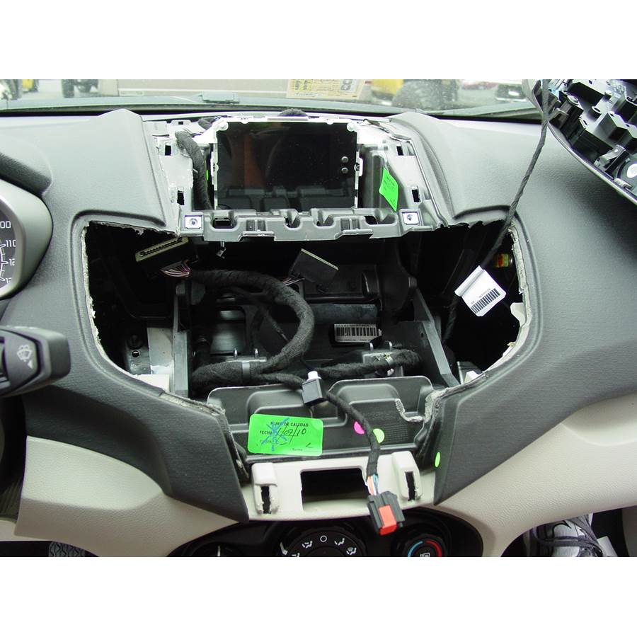 2012 Ford Fiesta Factory radio removed