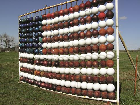 Bowling Ball Flag