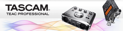 Shop Tascam at Crutchfield