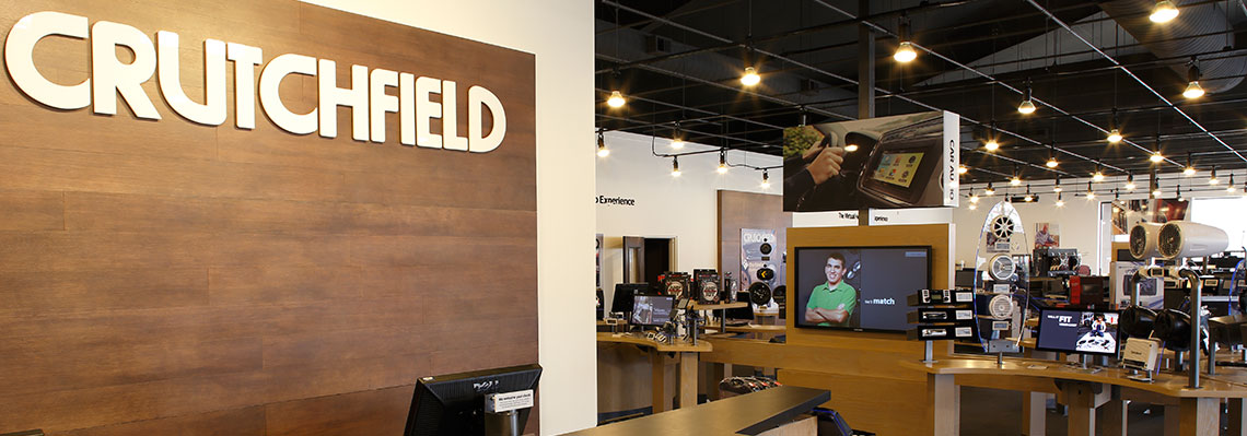 Discover the new Crutchfield retail store