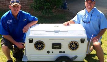 Marty C's custom party cooler