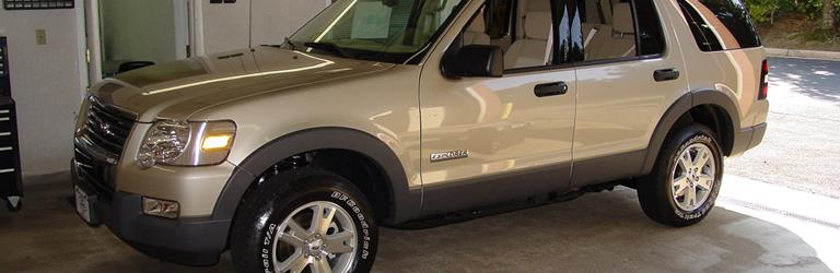 2008 Mercury Mountaineer Exterior
