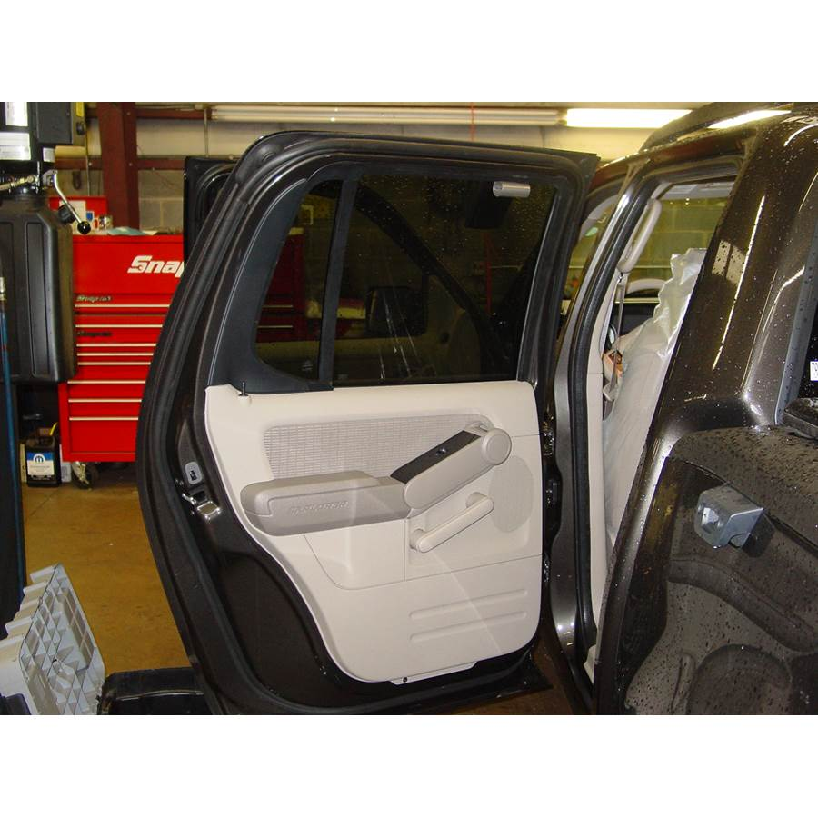 2008 Ford Explorer Sport Trac Rear door speaker location