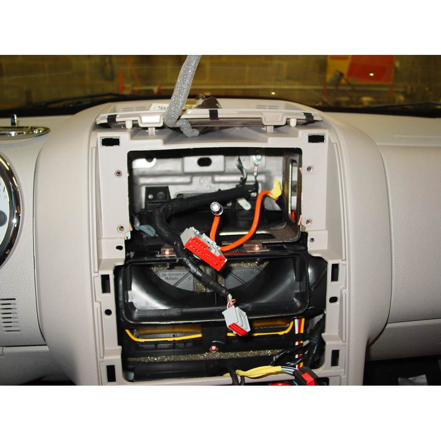 2008 Ford Explorer Sport Trac Factory radio removed