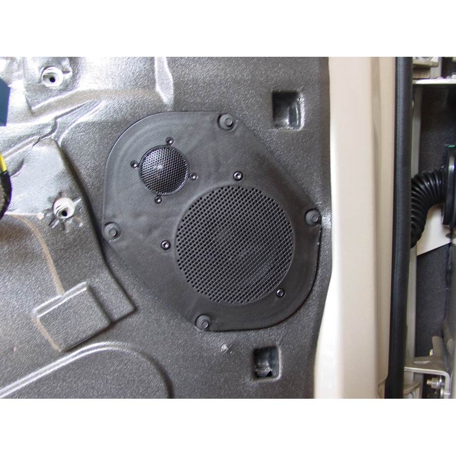 2009 Ford Explorer Front door speaker