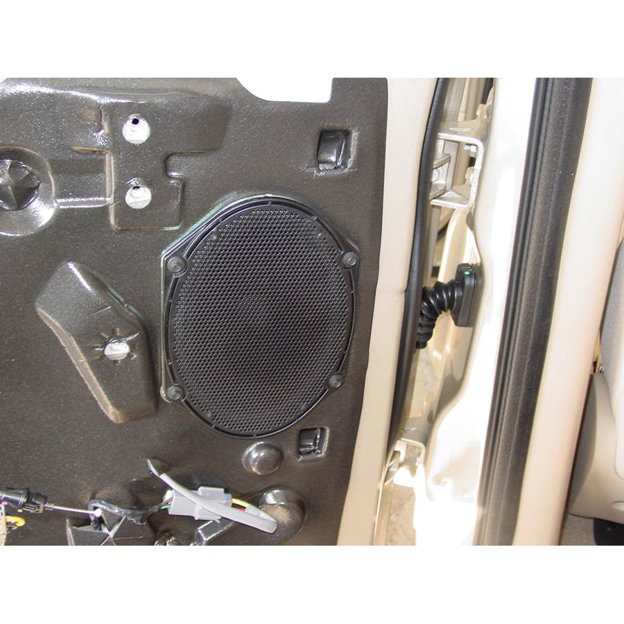 2009 Ford Explorer Rear door speaker