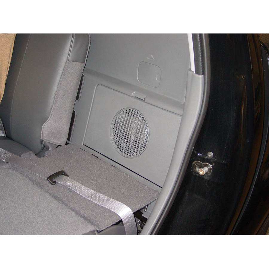 2004 Ford Explorer Sport Trac Factory amplifier location