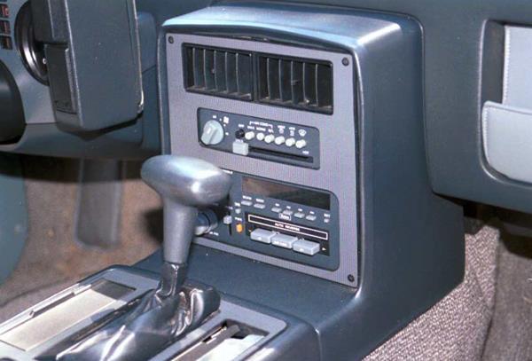 pontiac fiero radio