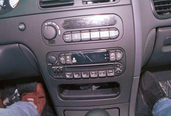 dodge intrepid radio