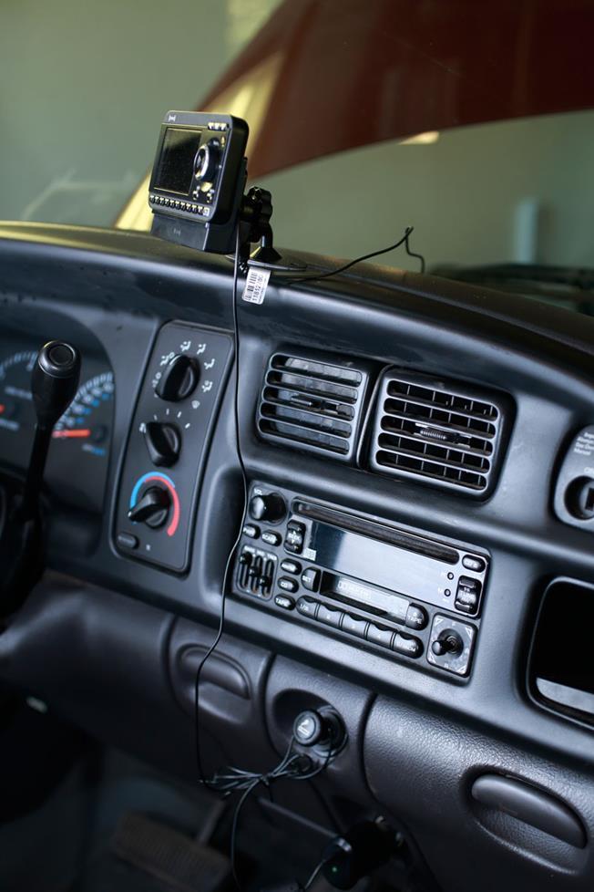 Gary Crump 2001 Dodge Ram Factory radio