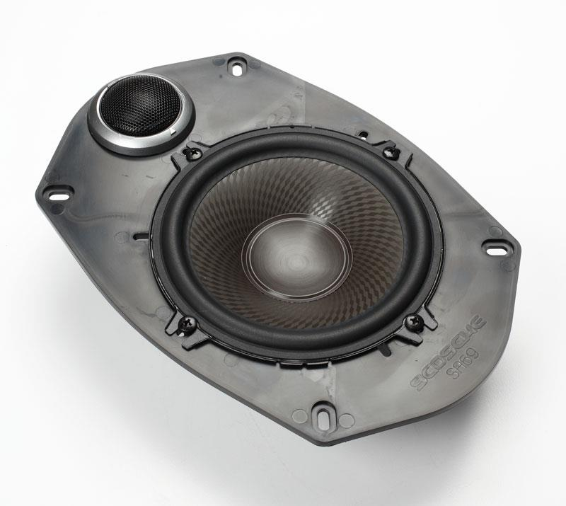 Kenwood Performance components in bracket