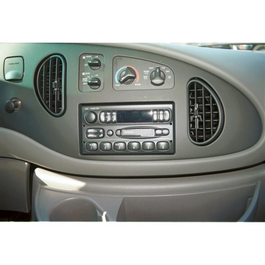 1998 Ford Club Wagon Other factory radio option