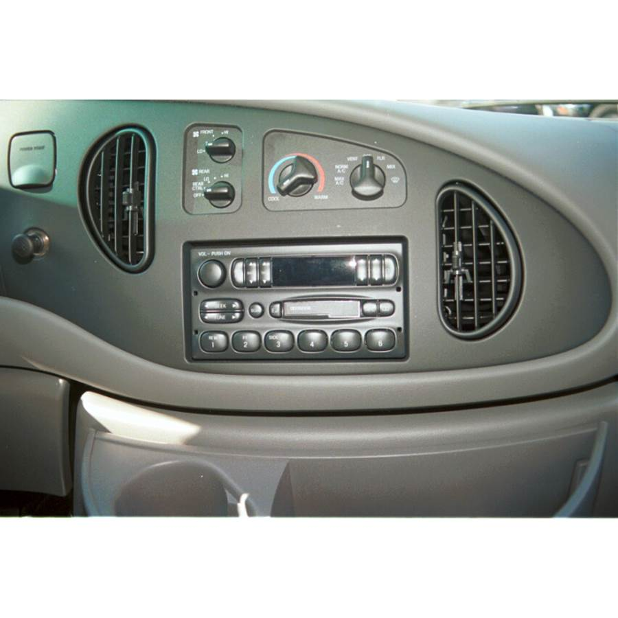 2000 Ford Econoline Other factory radio option