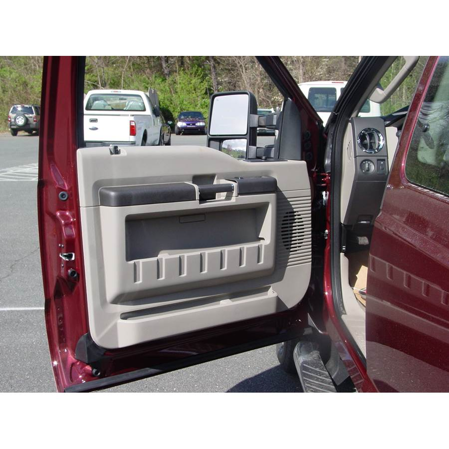 2016 Ford F-350 Front door speaker location