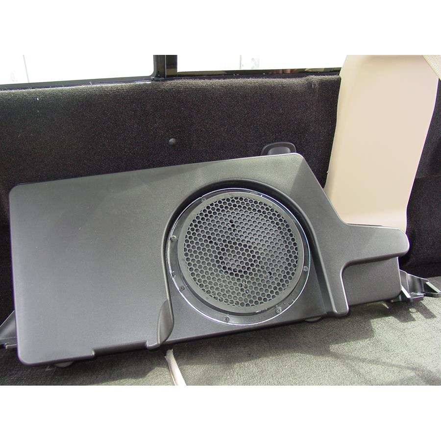 2016 Ford F-450 Factory subwoofer