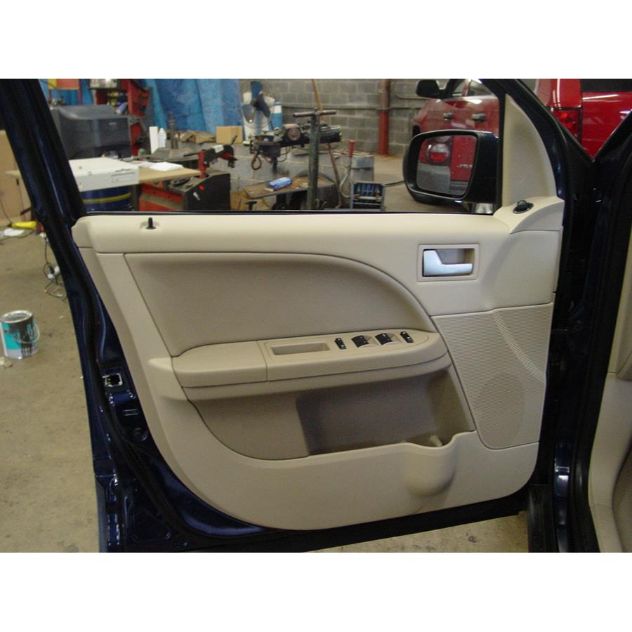 2007 Ford Freestyle Front door speaker location