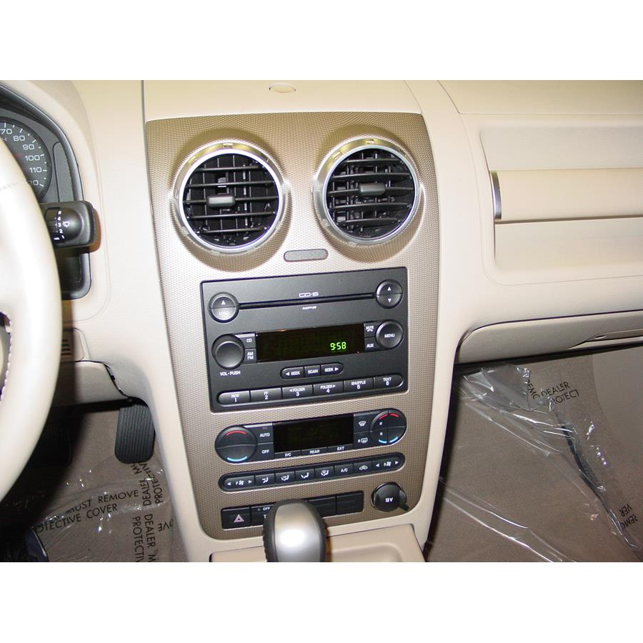 2007 Ford Freestyle Factory Radio