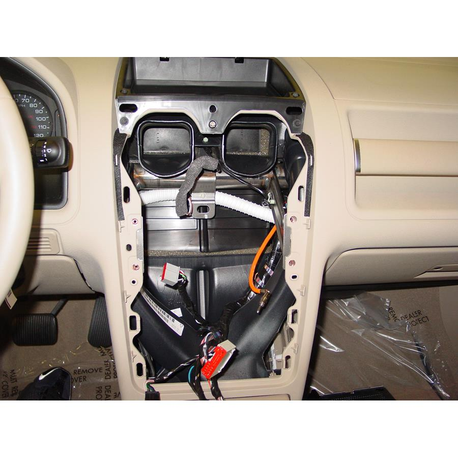 2007 Ford Freestyle Factory radio removed