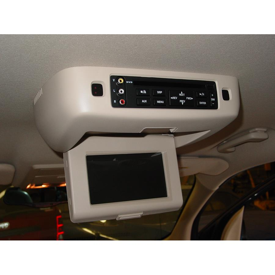 2007 Ford Freestyle Rear entertainment system