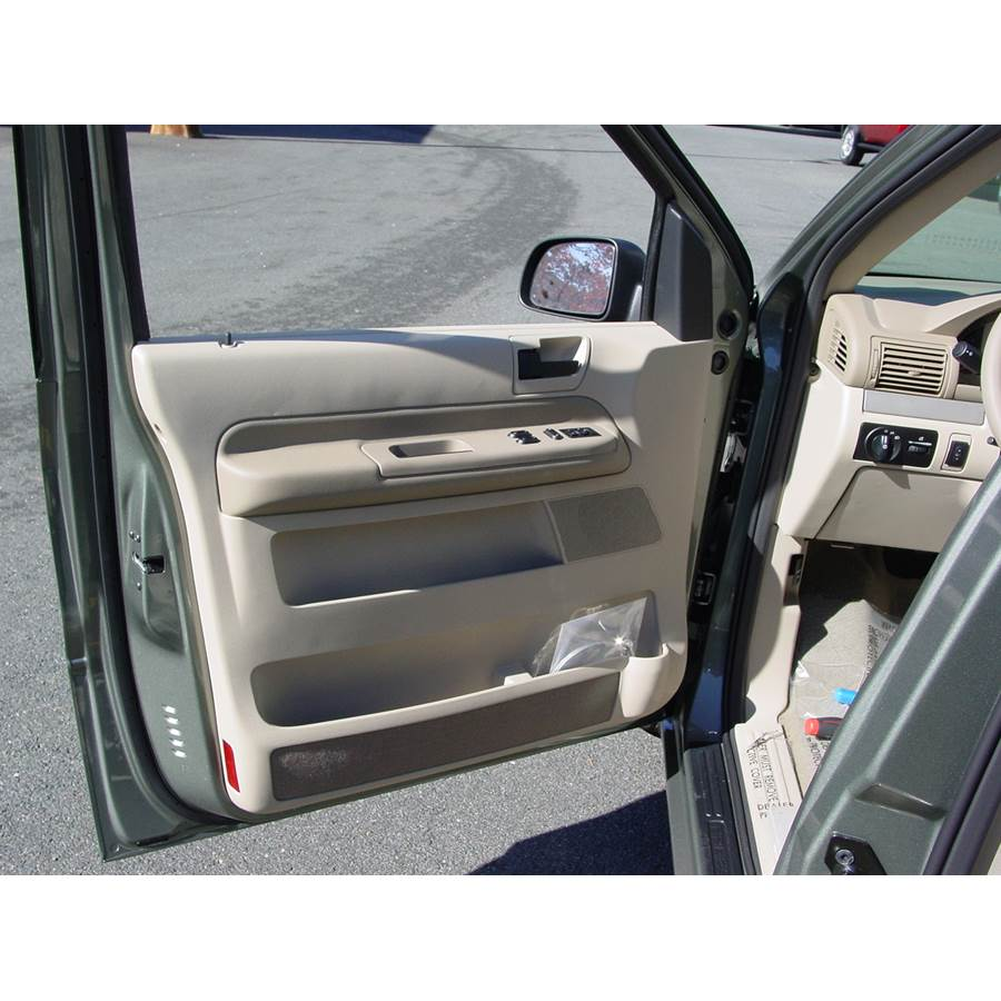 2005 Ford Freestar Front door speaker location