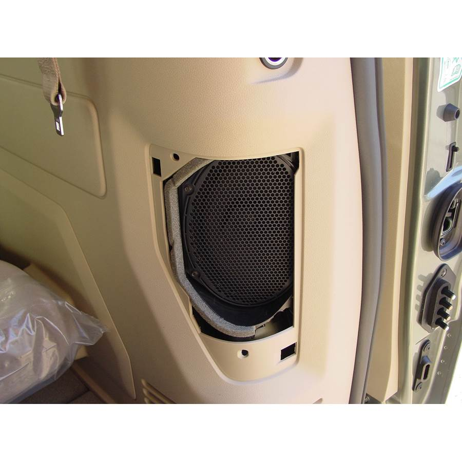 2005 Ford Freestar Rear side panel speaker