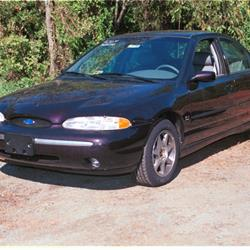 exterior ford contour audio radio, speaker, subwoofer, stereo 1997 Ford Contour at readyjetset.co