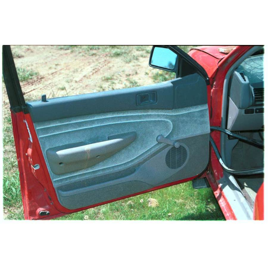 1992 Ford Escort Front door speaker location