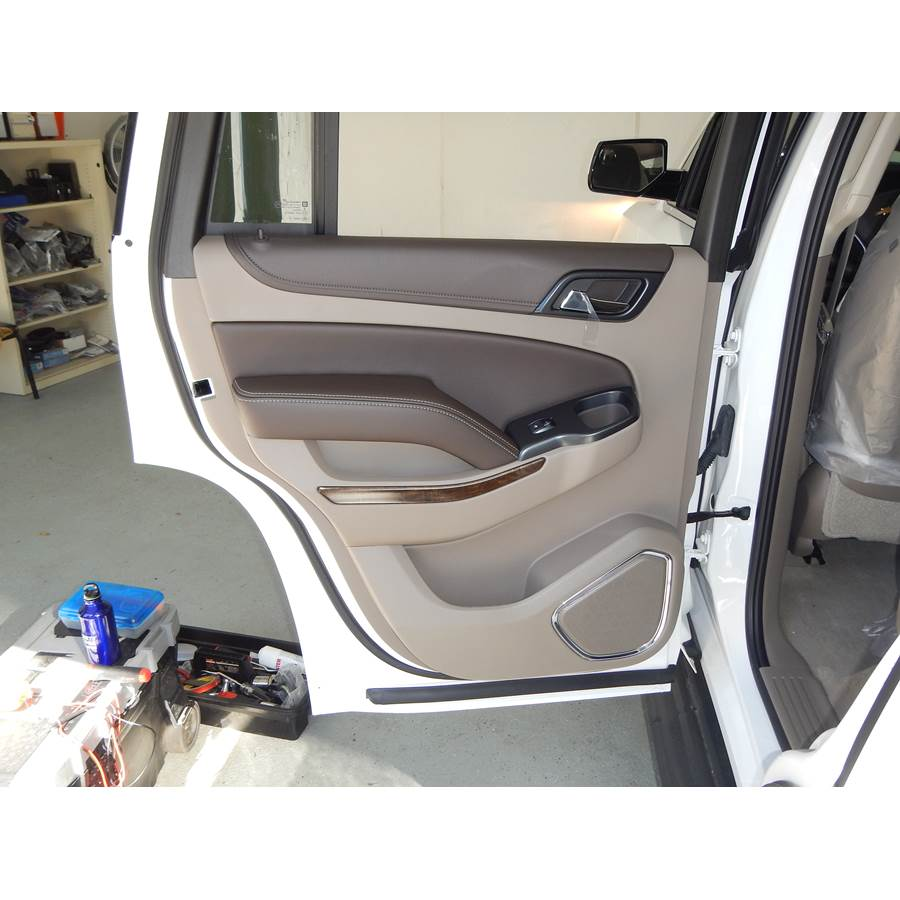 2019 Chevrolet Suburban LS Rear door speaker location