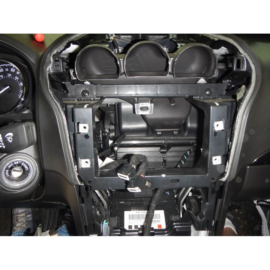 2014 Chevrolet Captiva Sport Factory radio removed