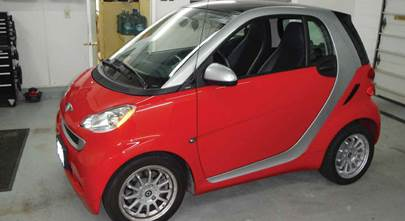 2011-2015 smart fortwo coupe