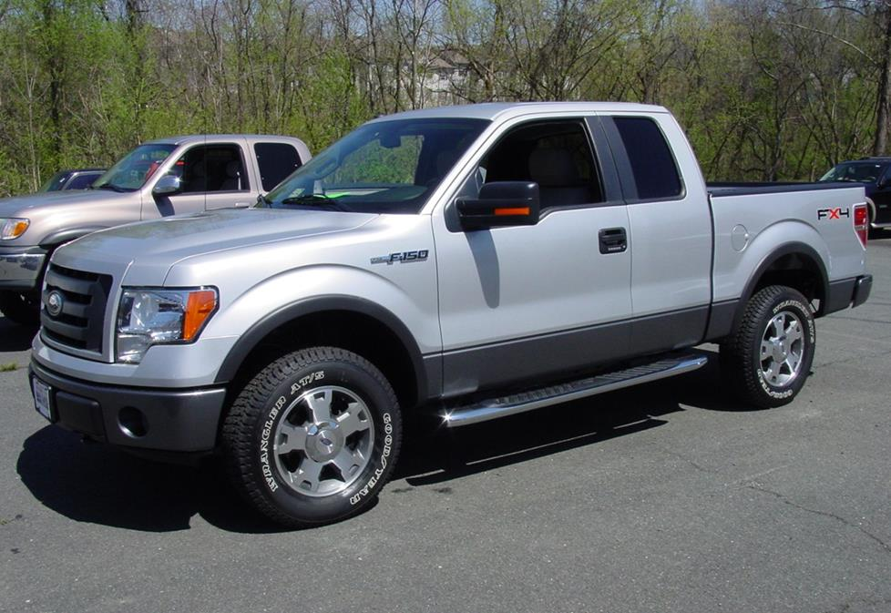 2009-2014 Ford F-150 SuperCab Car Audio Profile