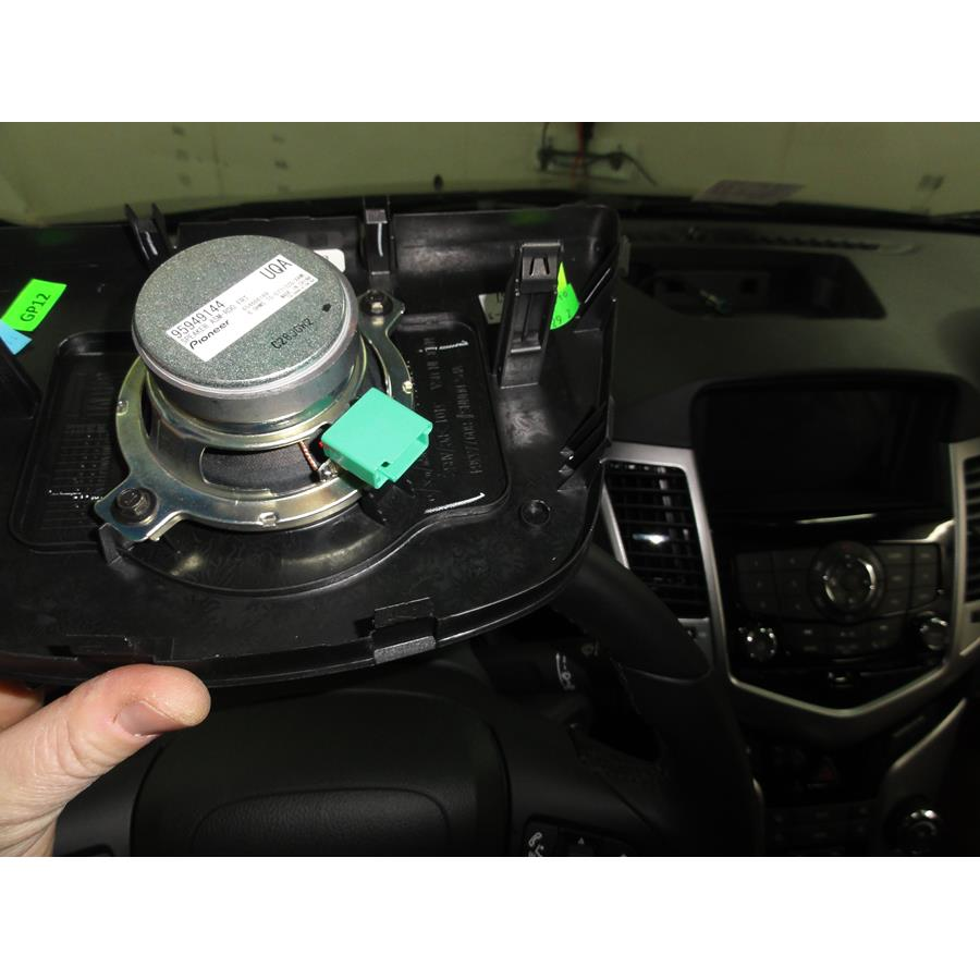 2014 Chevrolet Cruze Center dash speaker