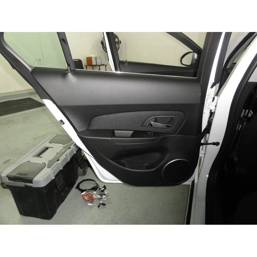 2014 Chevrolet Cruze Rear door speaker location