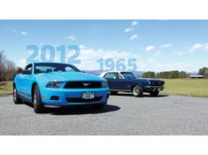 A tale of two Mustangs
