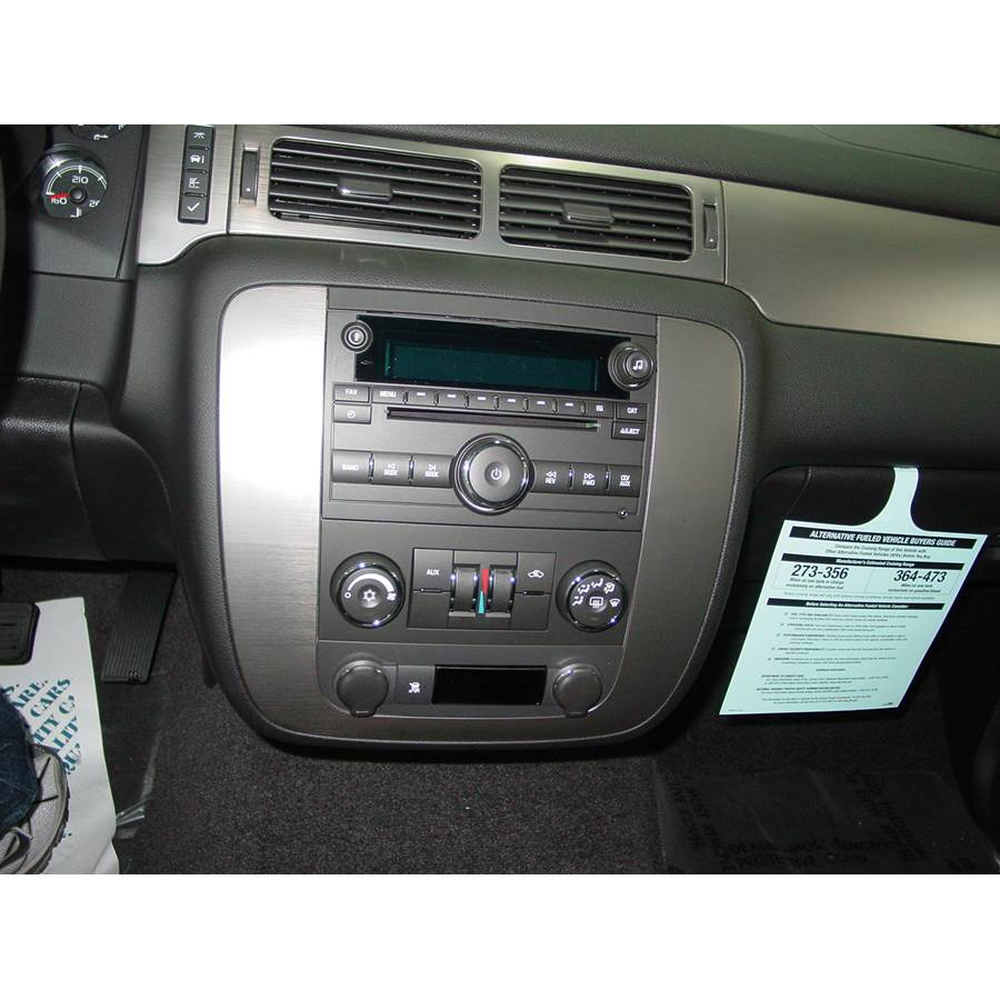 2013 Chevrolet Tahoe Factory Radio