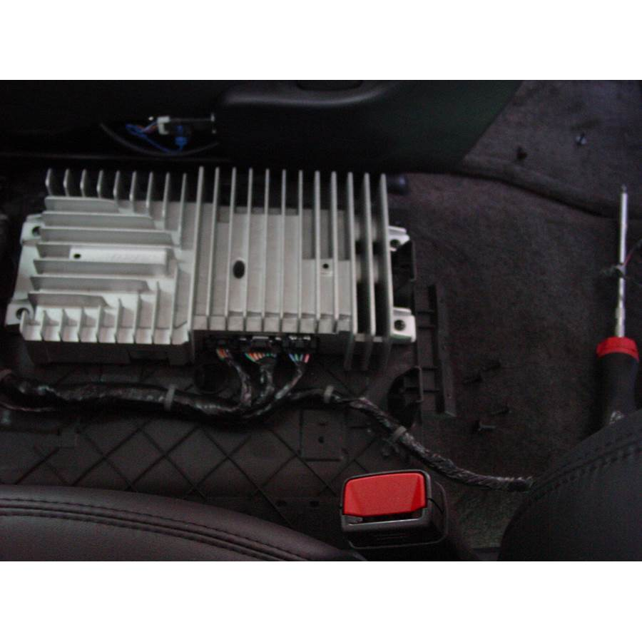 2014 GMC Sierra 2500/3500 Factory amplifier