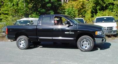 2002-2005 Dodge Ram 1500 Quad Cab